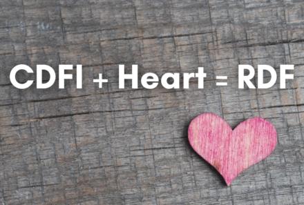 CDFI + Heart = RDF