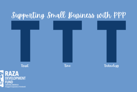 3 T's to Support Small Business with PPP