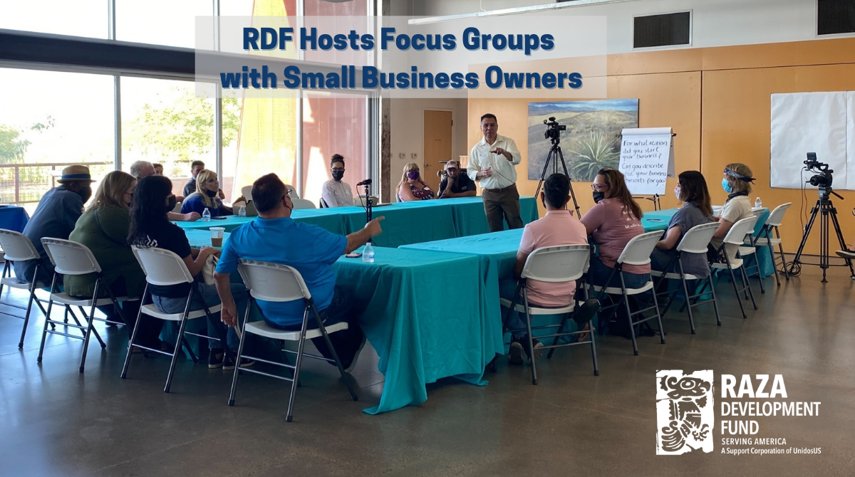 RDF Hosts Focus Groups with Small Business Owners