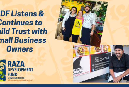 RDF Listens & Continues to Build Trust with Small Business Owners