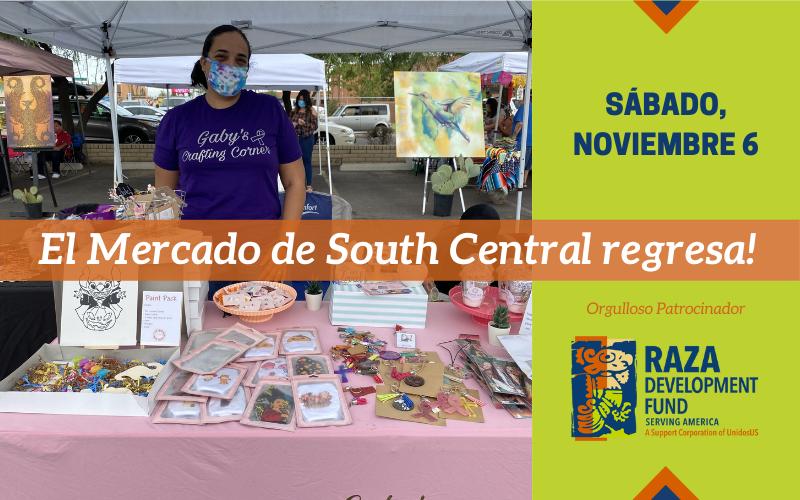 Aparten las fechas: South Central Mercado