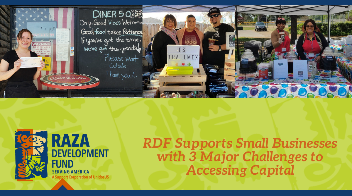 RDF Supports Small Businesses With 3 Major Challenges to Accessing Capital