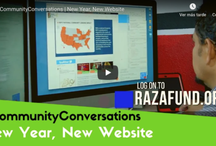 #CommunityConversations | New Year, New Website